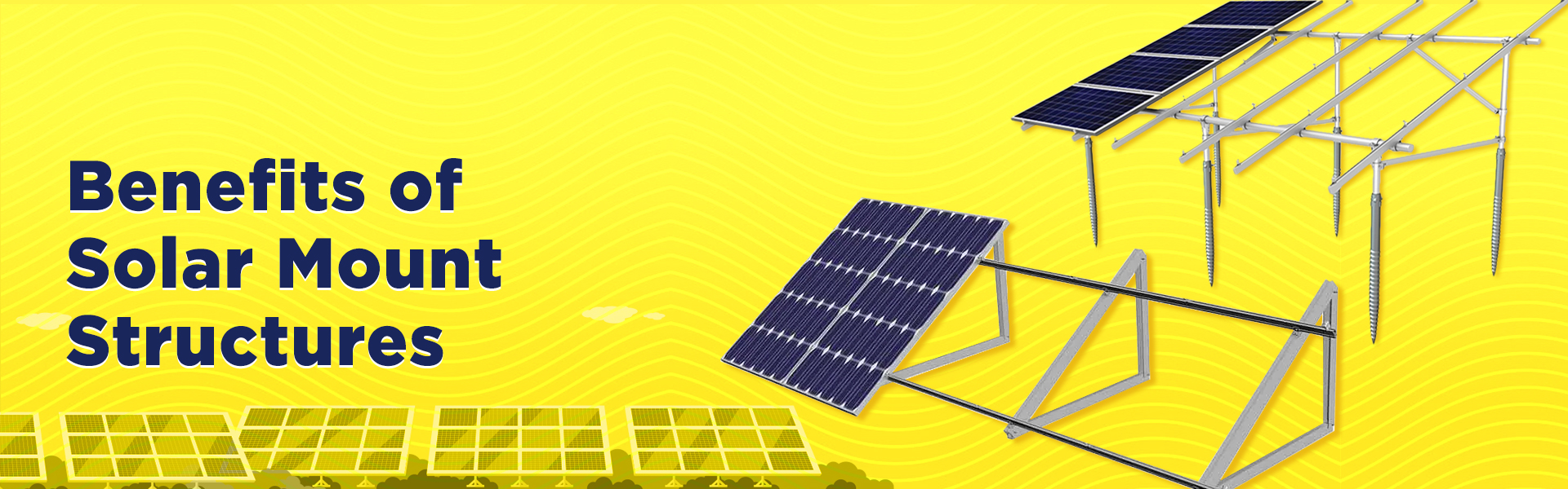 Solar Panels  Mounting Structures – Advantages and Benefit